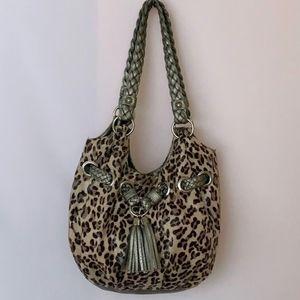 Bueno Animal Print Shoulder Bag
